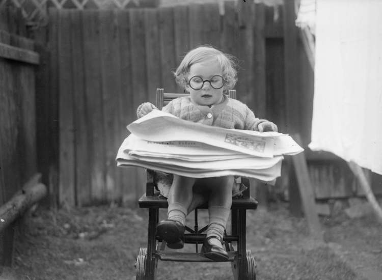 Newspaper Child